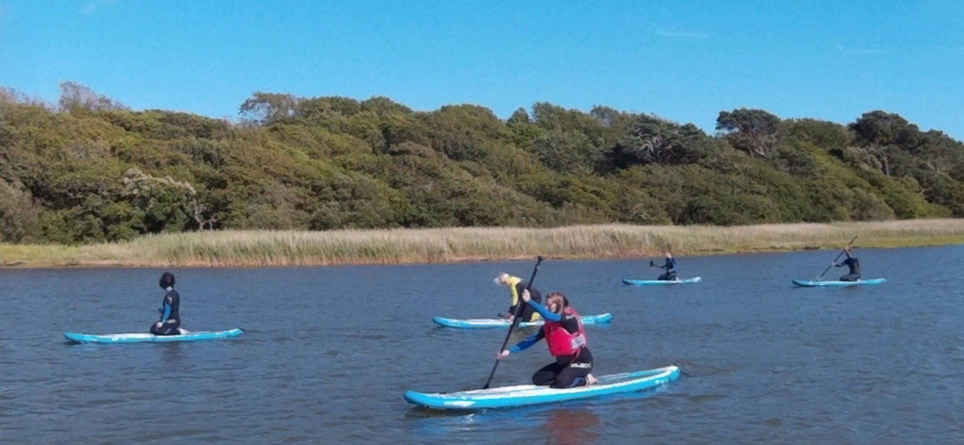 Private Group Paddlesport Session For 4 - Stirlingshire-6