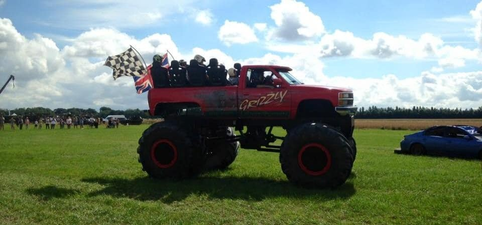 Grizzly Monster Truck Ride In West Sussex