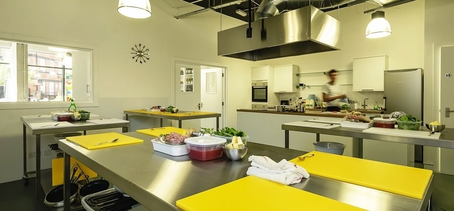 Mediterranean Street Food Cookery Class - London-7