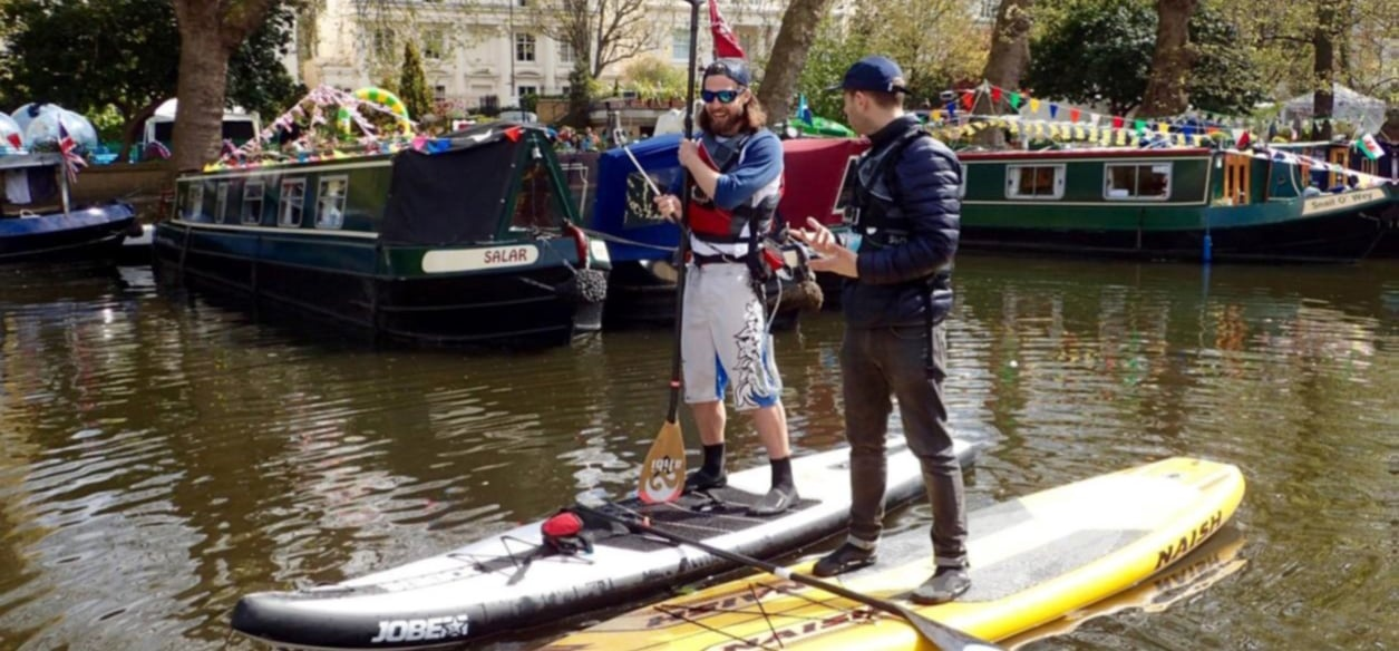 Beginners Private SUP Lesson - London-3