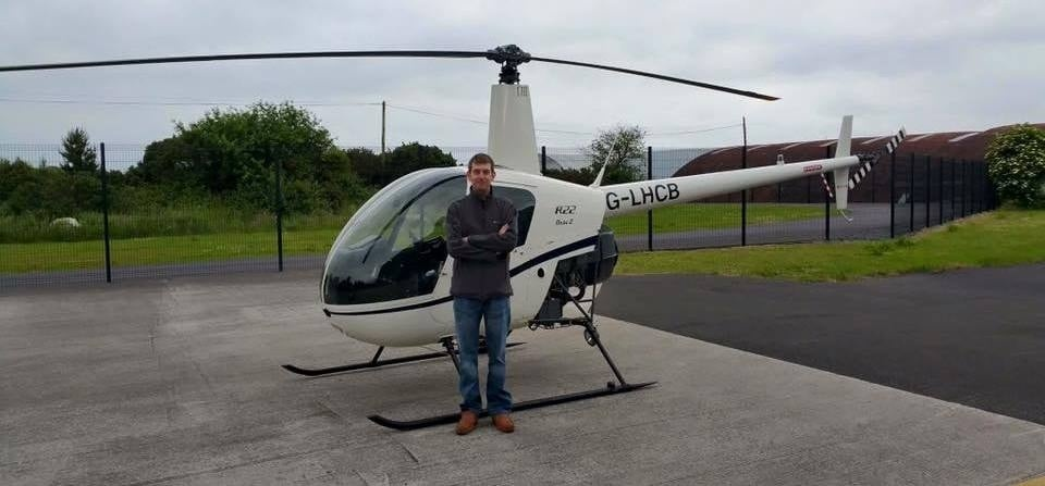 30 Minute Helicopter Lesson In A Robinson 22: Northern Ireland-4