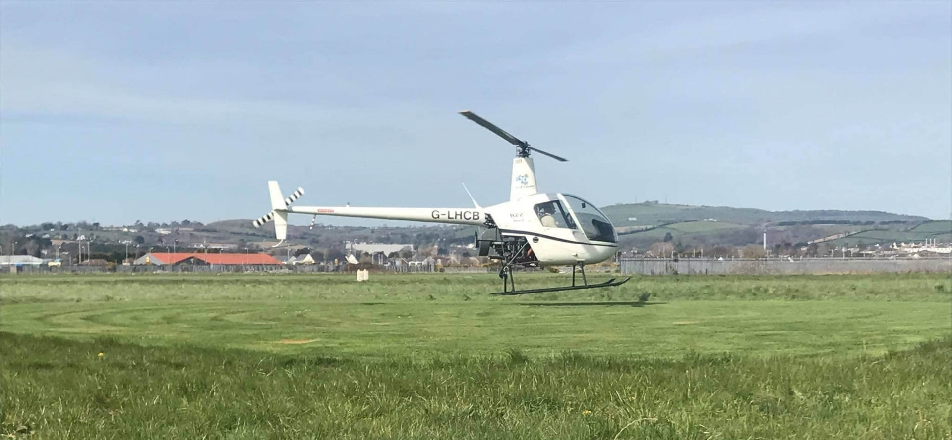 30 Minute Helicopter Lesson In A Robinson 22: Northern Ireland-5