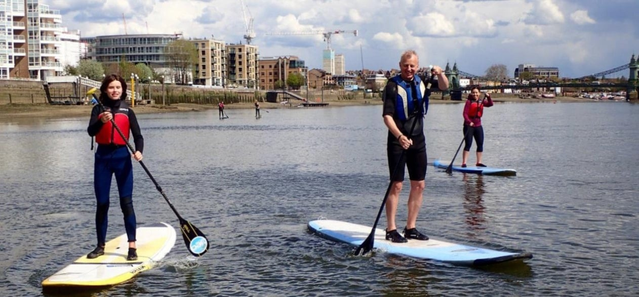 Introduction to Paddleboarding - London-5