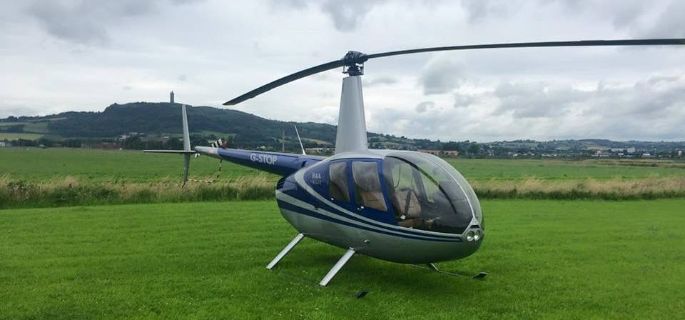 20 Minute Helicopter Lesson in a Robinson 44 - Northern Ireland-2
