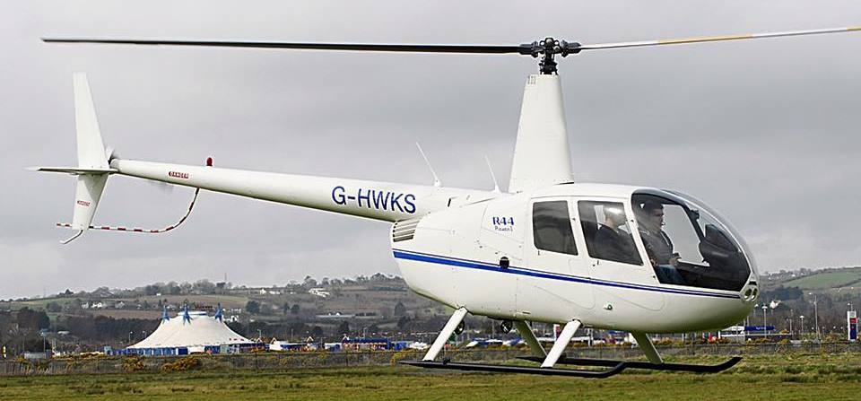 20 Minute Helicopter Lesson in a Robinson 44 - Northern Ireland-3