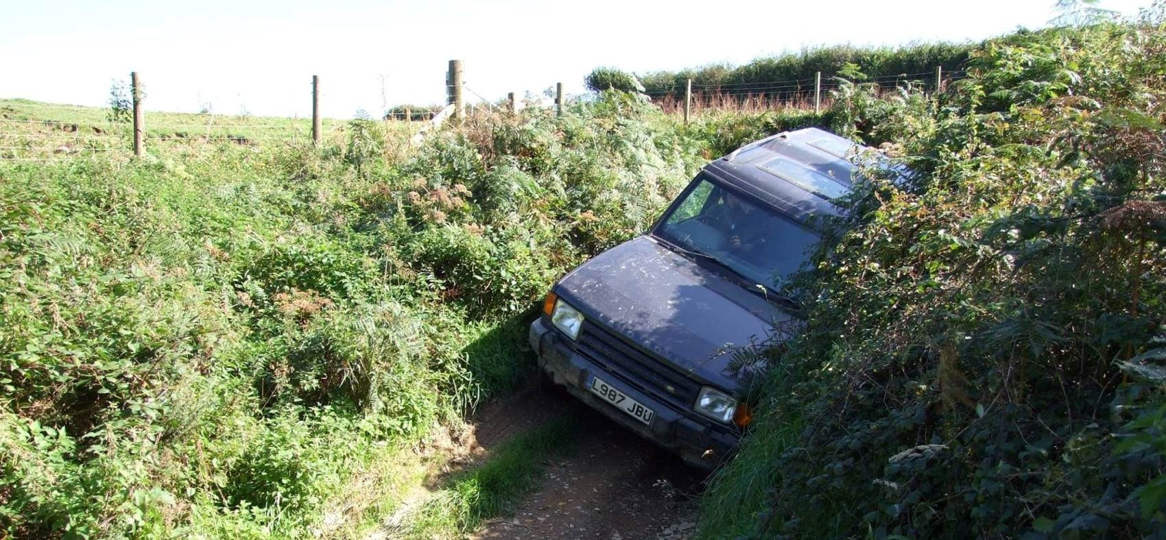 45 Minute 4x4 Driving Experience in Devon - With Passenger-1