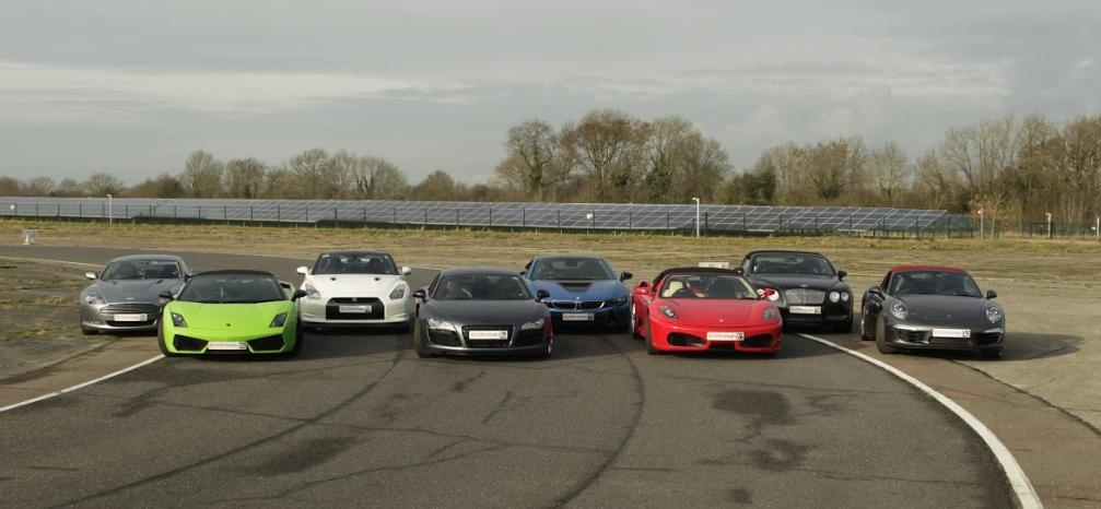 Five Supercar Driving Blast With Hot Lap