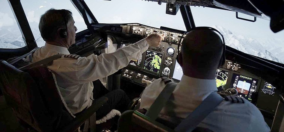 Half Day Flight Simulator in Blackpool-4