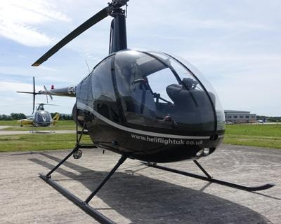Gloucestershire 60 Minute R22 Helicopter Trial Lesson