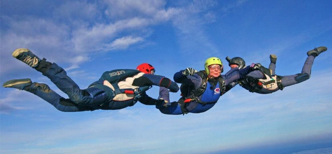 AFF Level 1 Skydiving Course in Lincolnshire-3