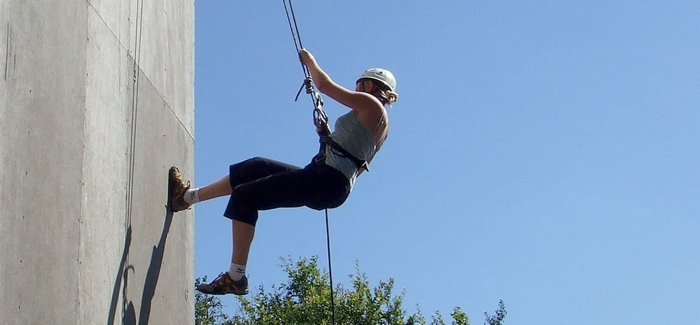 Abseiling Experience Sussex-1