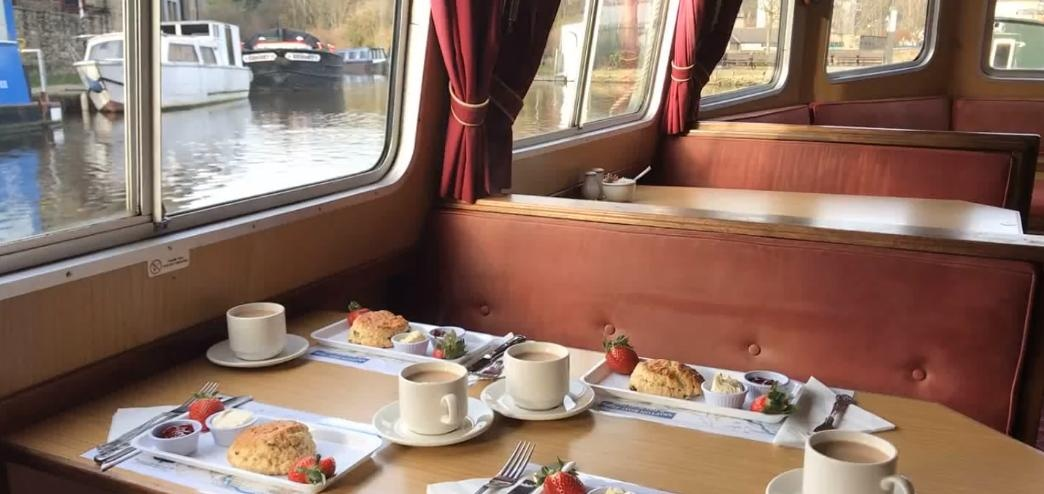 Afternoon Tea Cruise With Bottle of Bubbly in Skipton-4