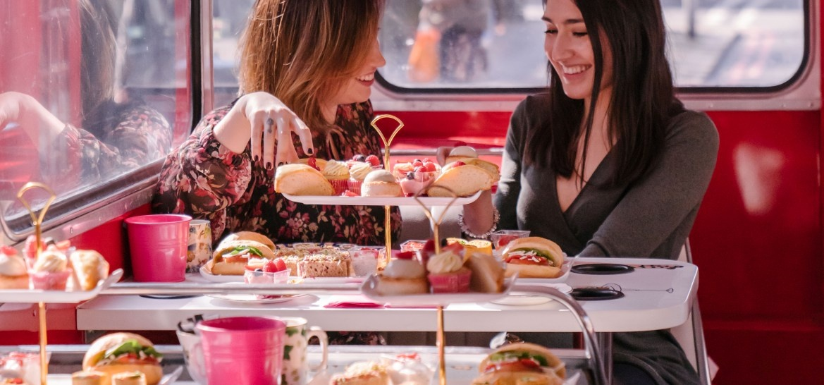 Brigit's Afternoon Tea Bus Tour for two in London