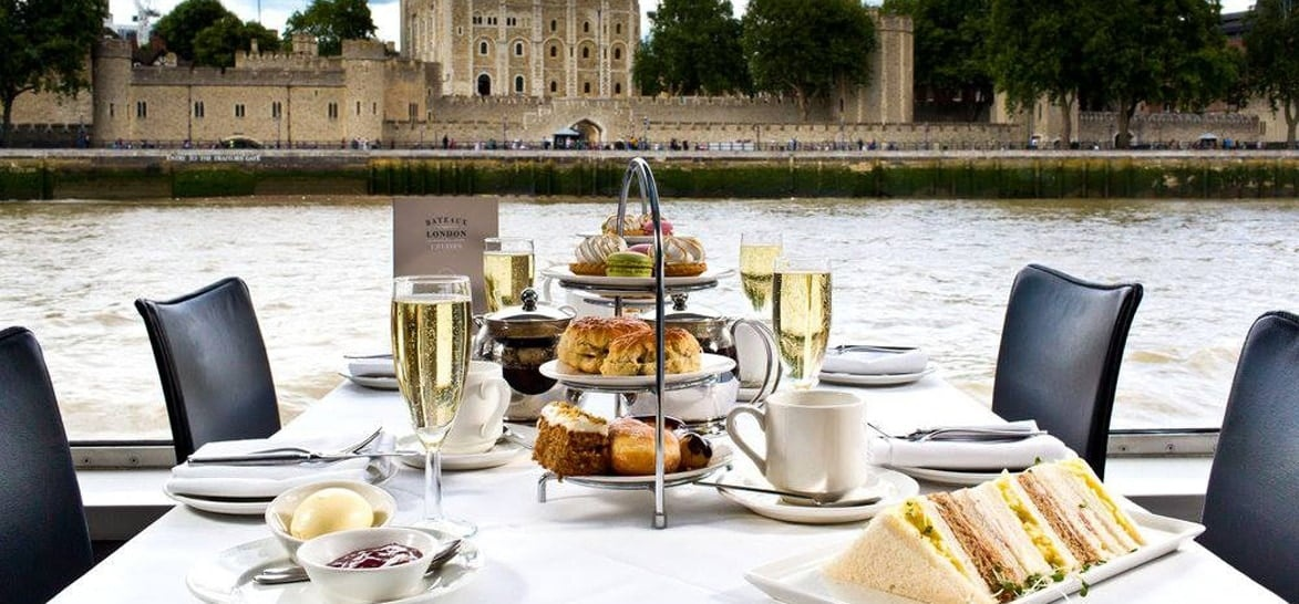 Classic Thames Afternoon Tea Cruise for Two-1