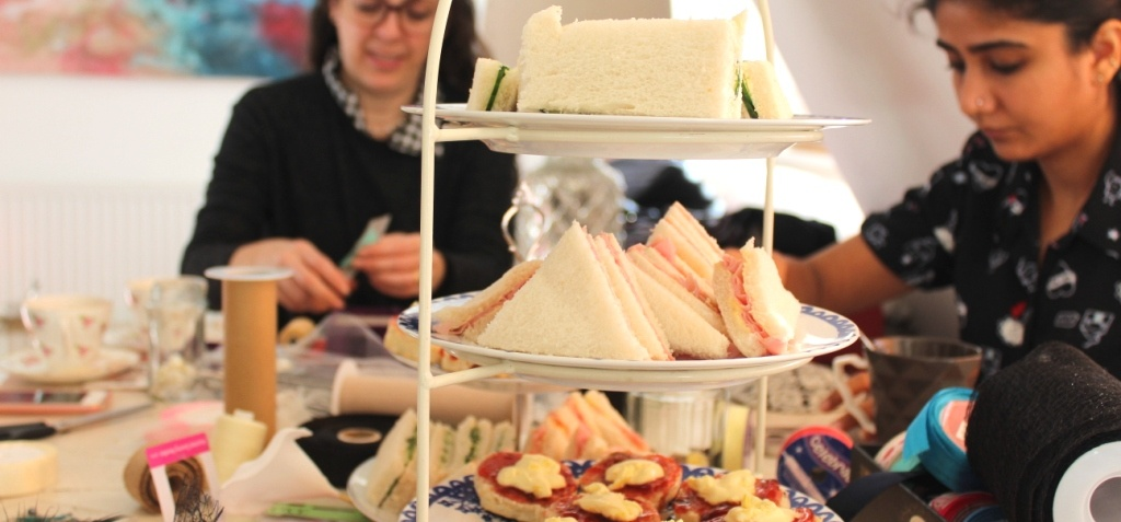 Fascinator Making Experience With Afternoon Tea - London