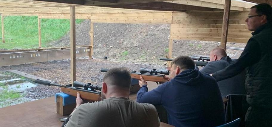 Rifle Shooting and Axe Throwing Experience in Cheshire for 2-1