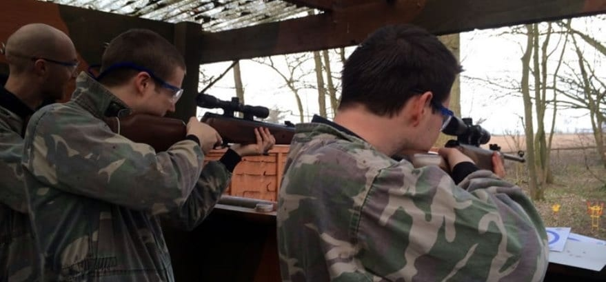 Air Rifle Shooting Experience for Two in Yorkshire-3
