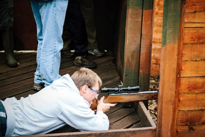 Air Rifle Shooting Experience for Two in Yorkshire-5
