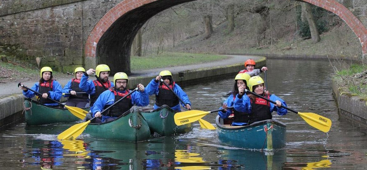 Canoeing or Kayaking Aqueduct Tour - North Wales-2