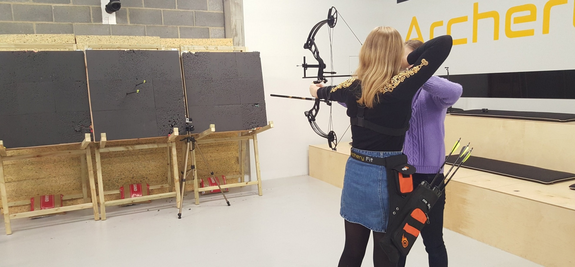 1.5 Hour Archery Lesson in London-4