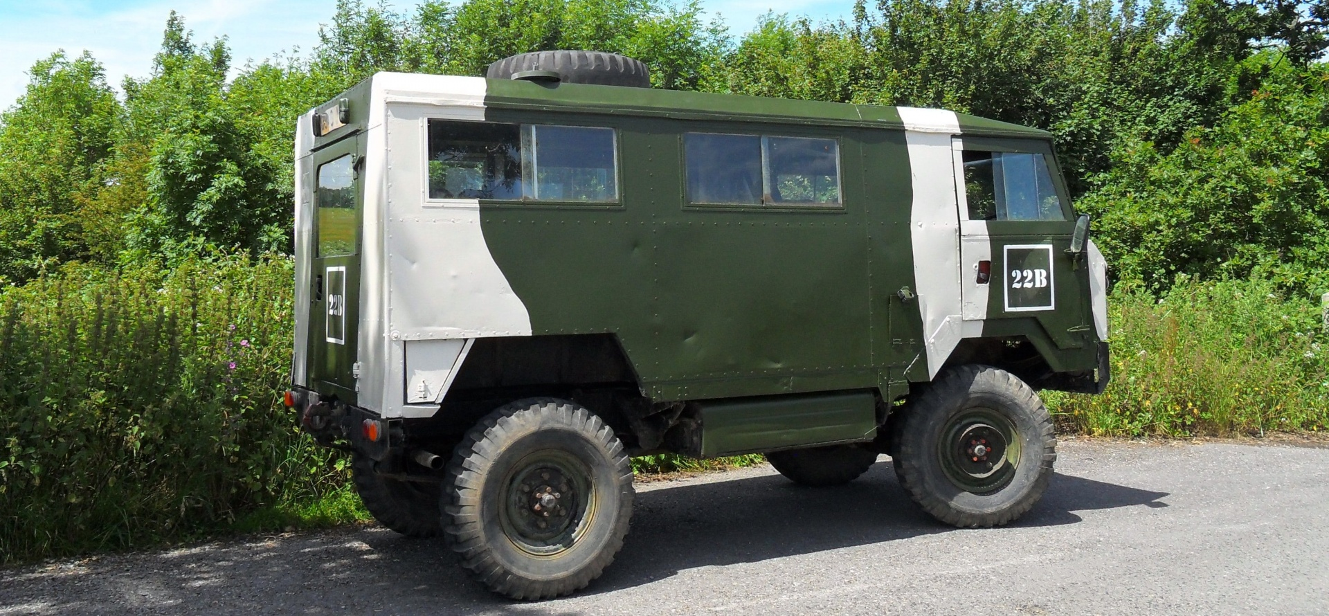 Classic Military Vehicle Driving Day in Dorset-3