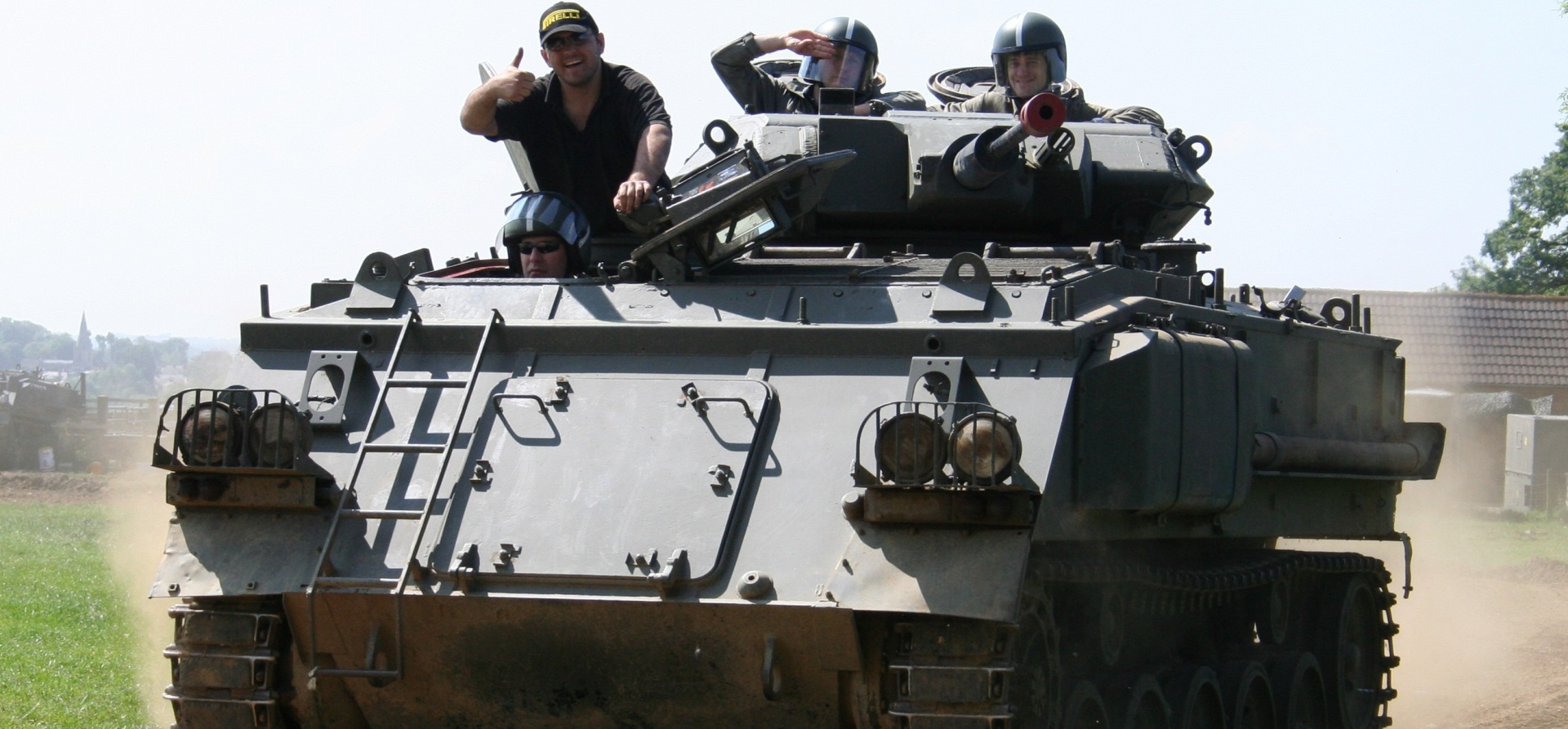 Tank Driving Taster Session Leicestershire