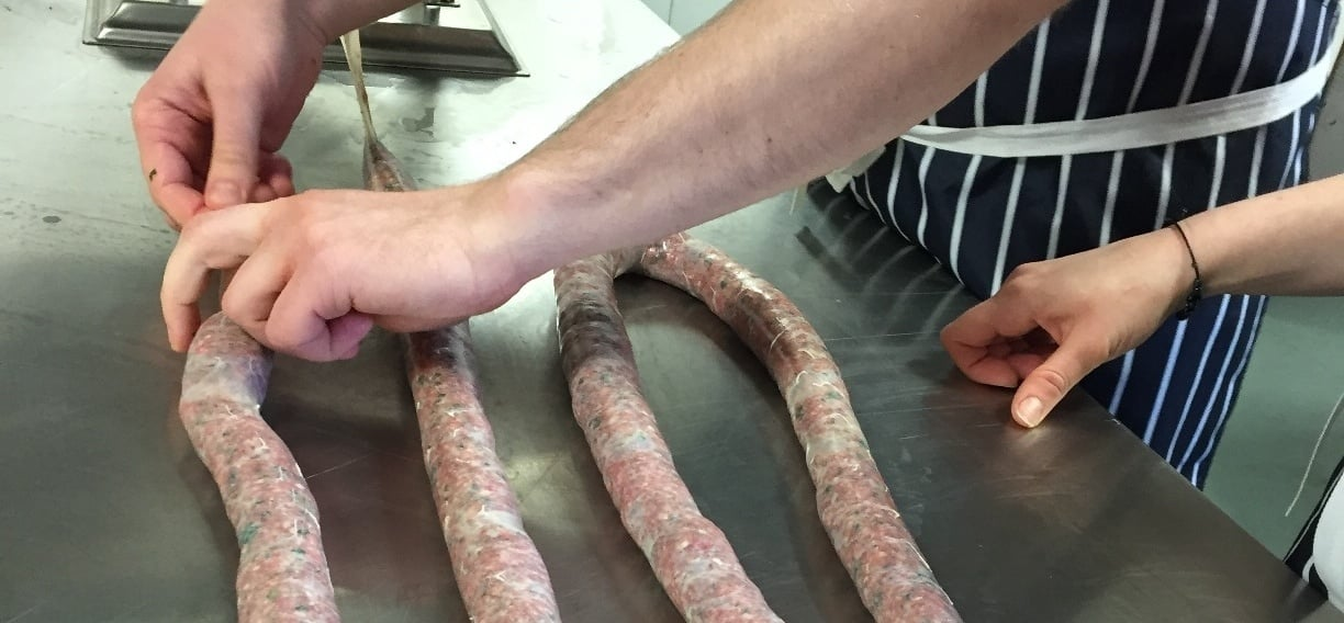 Sausage Making Cookery Class - London-3