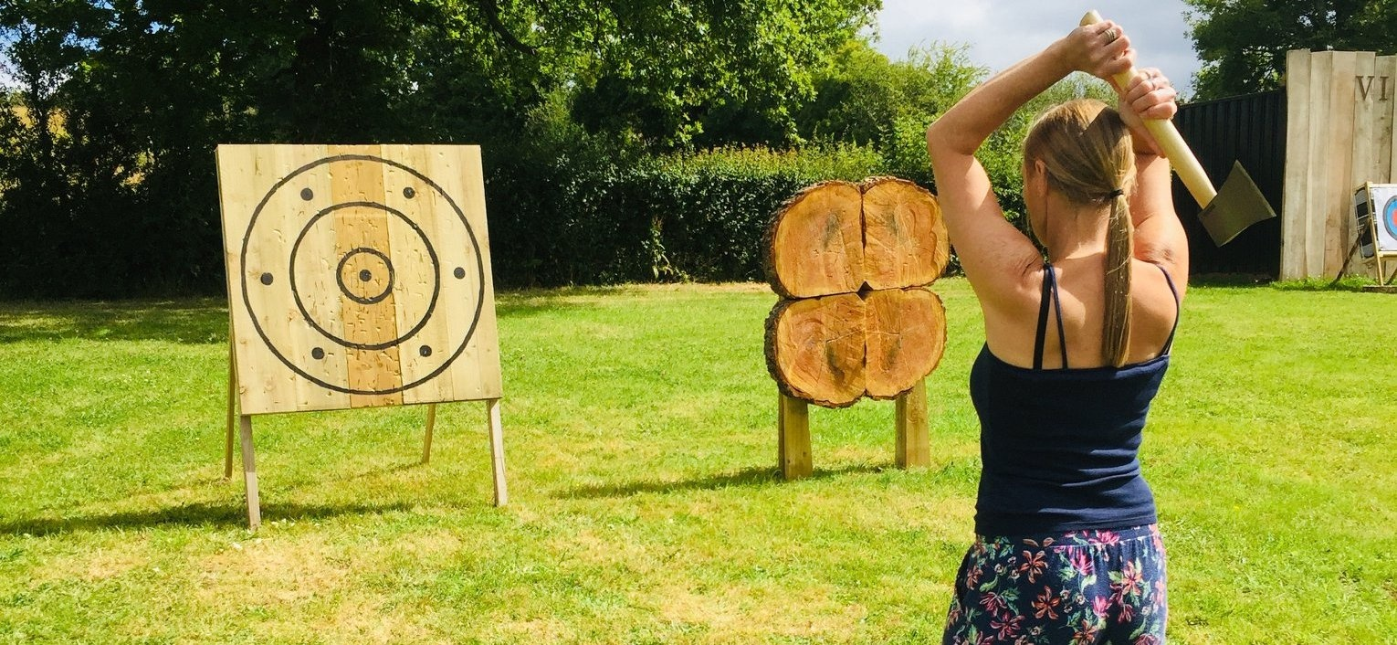 Axe Throwing In Hereford