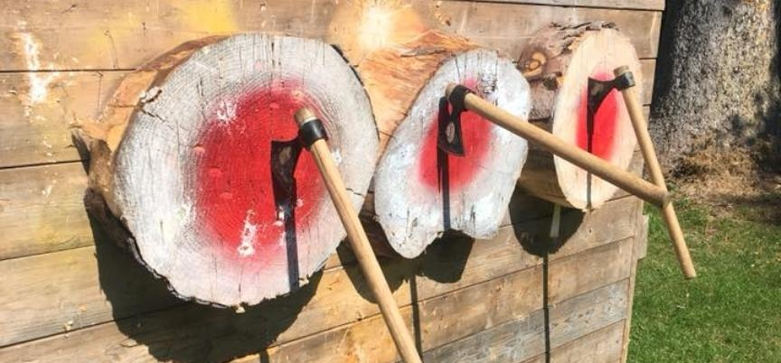 Axe Throwing For Two In Northumberland