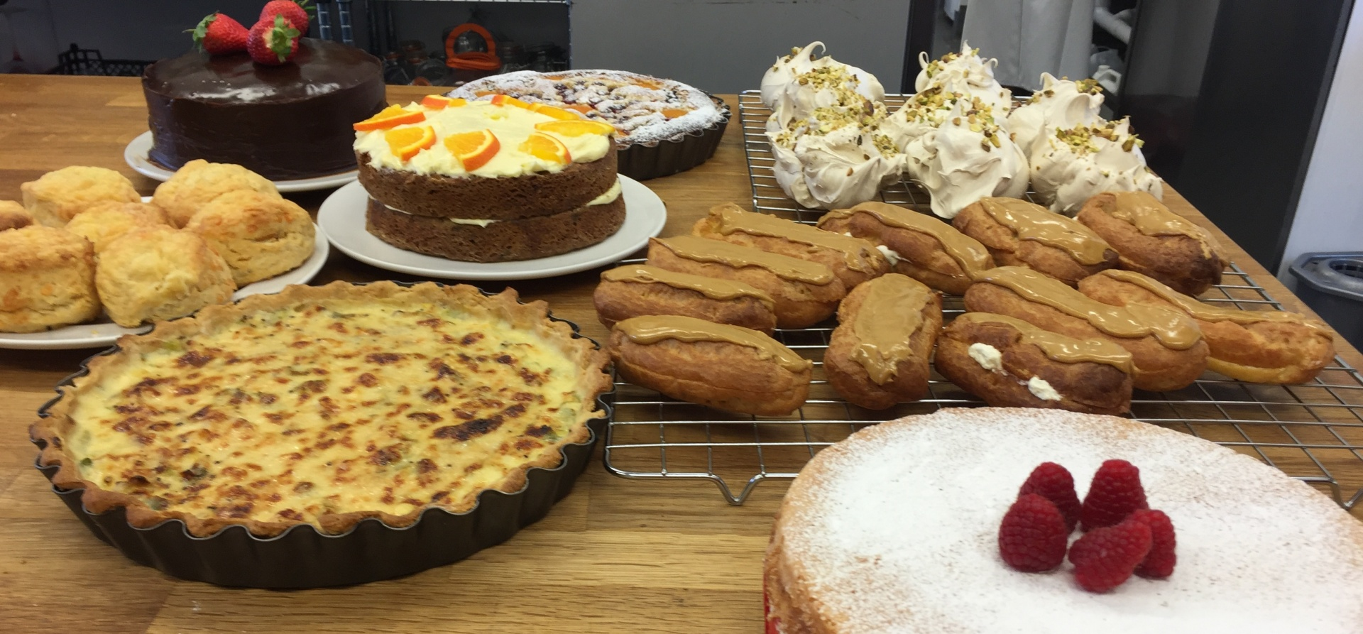 Cakes And Pastries Baking Class In Kent 1