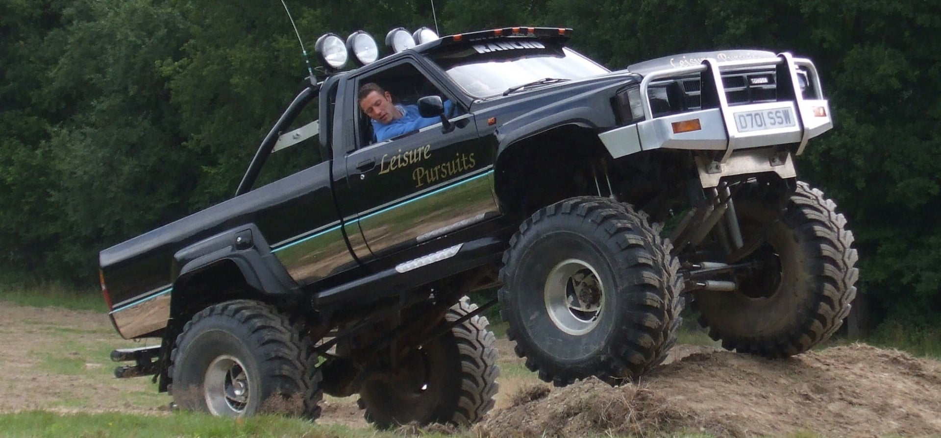 Monster Truck Driving Experience - Sussex-8