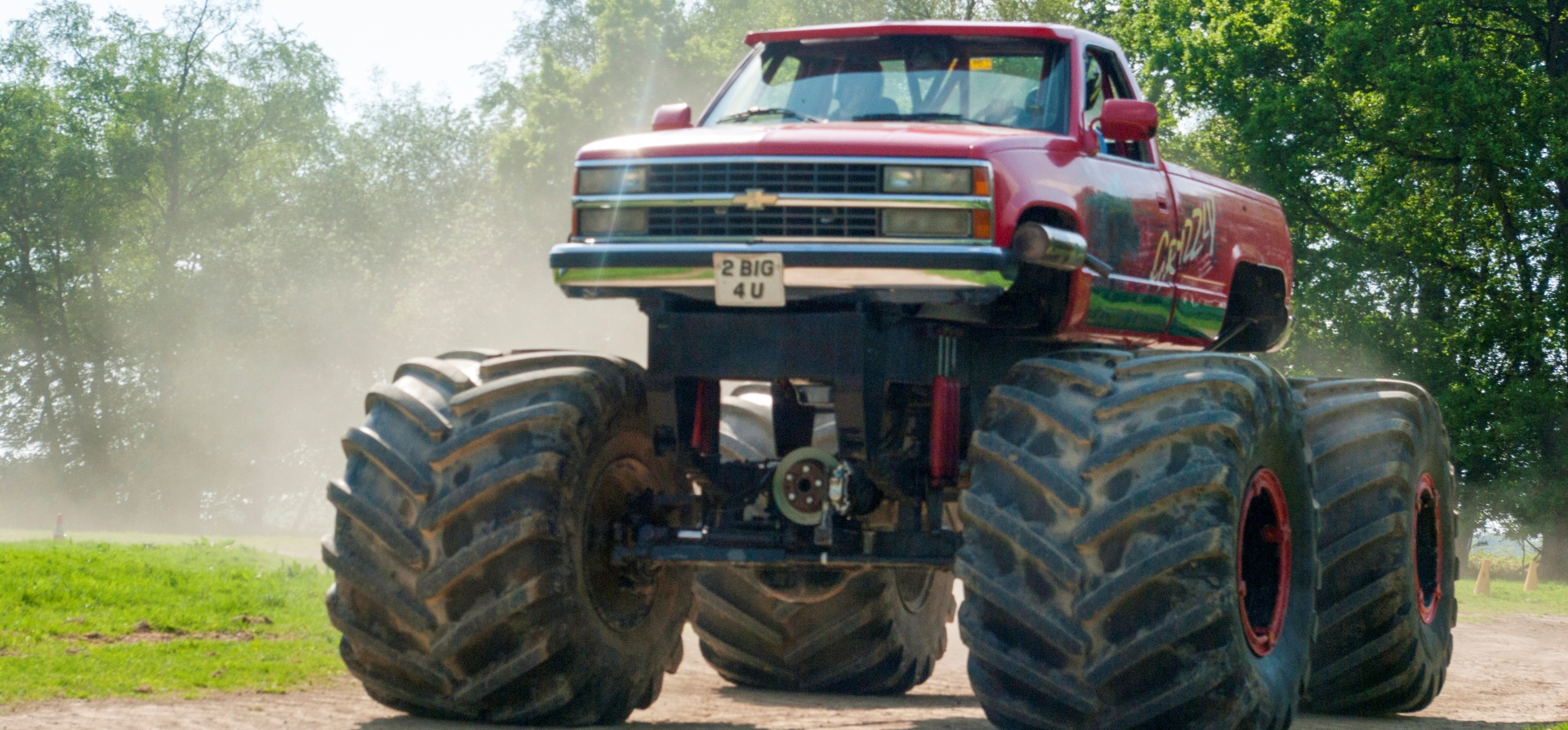 Monster Truck Driving Experience - Sussex-6