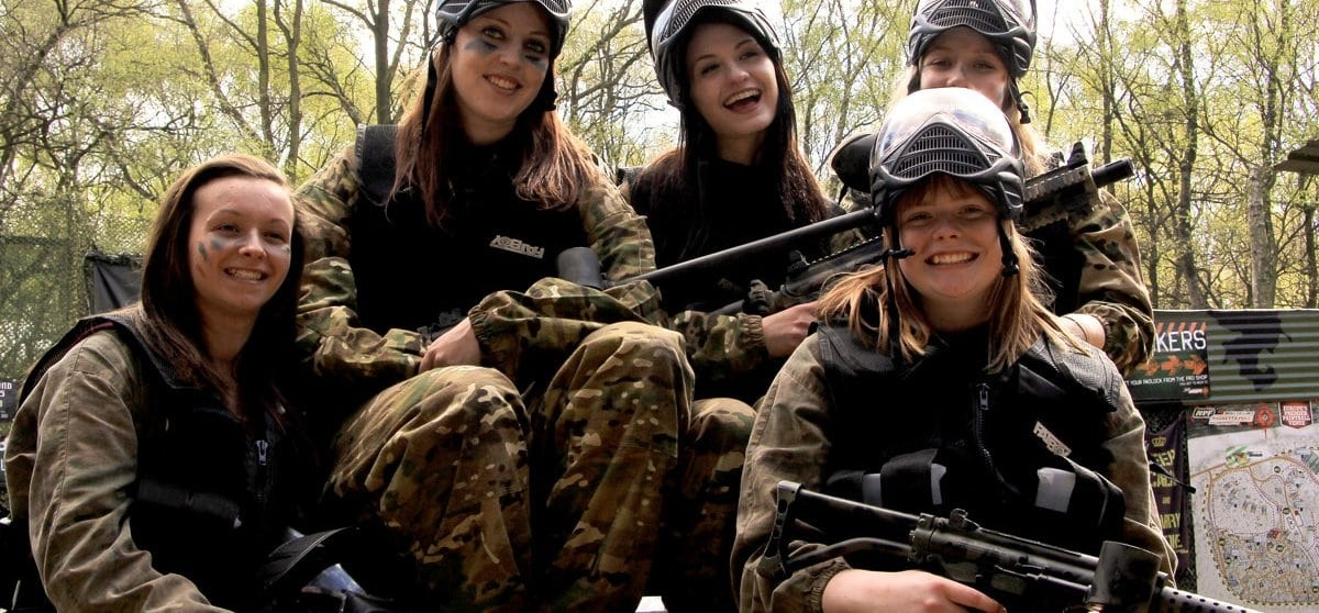 Birmingham Paintballing Full Day Experience-1