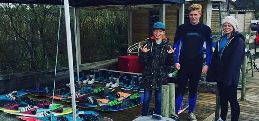 Blackpool Wakeboarding Beginners Lesson-3