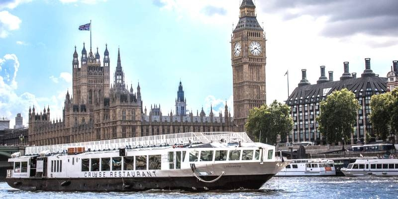 Premier Thames Afternoon Tea Cruise for Two-3