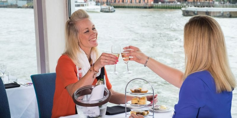 Premier Thames Afternoon Tea Cruise for Two-2