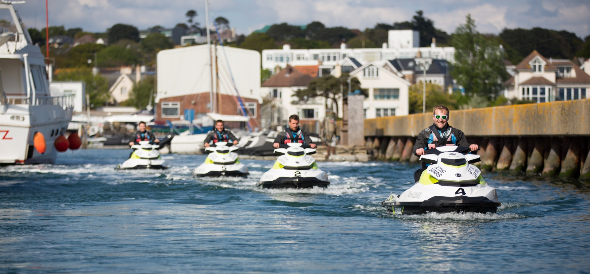 Bournemouth Open Water Jet Ski Safari Experience for Two-5