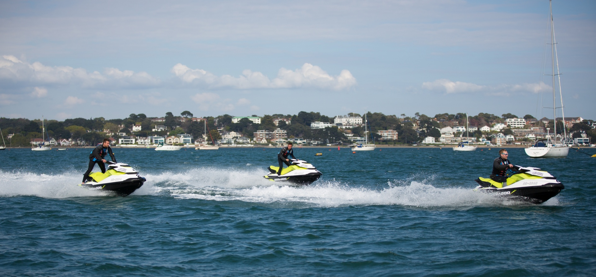 Bournemouth Open Water Jet Ski Safari Experience for Two-7