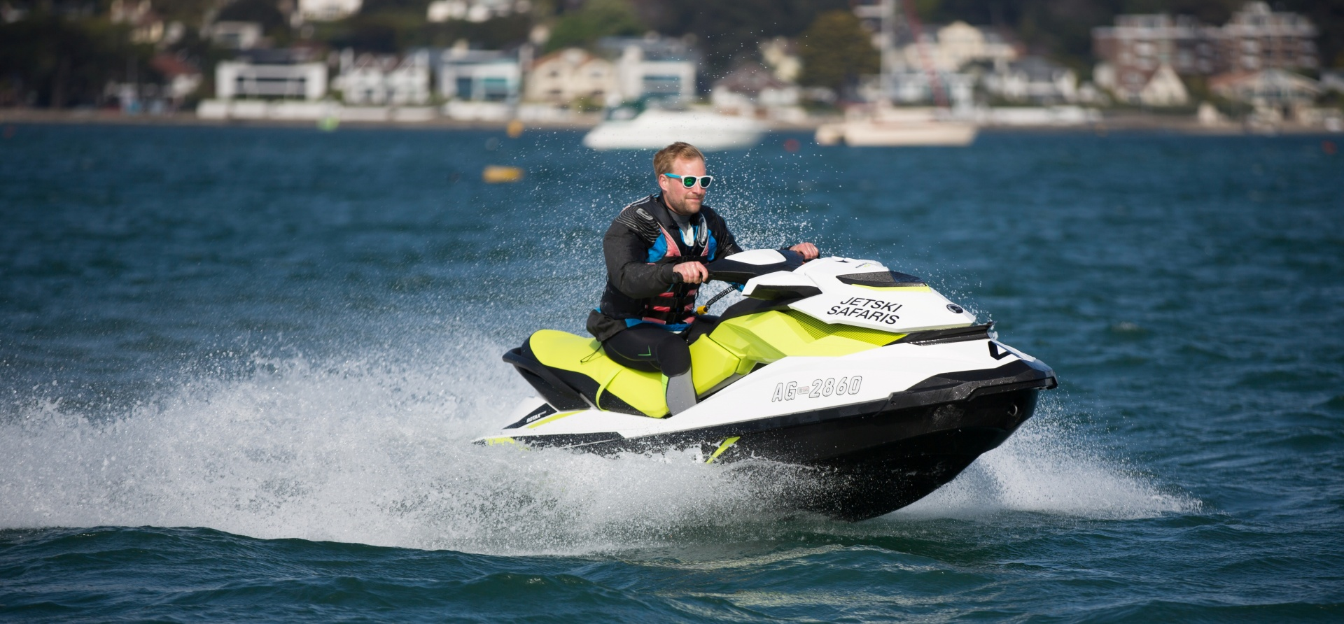Bournemouth Open Water Jet Ski Safari Experience for Two-1
