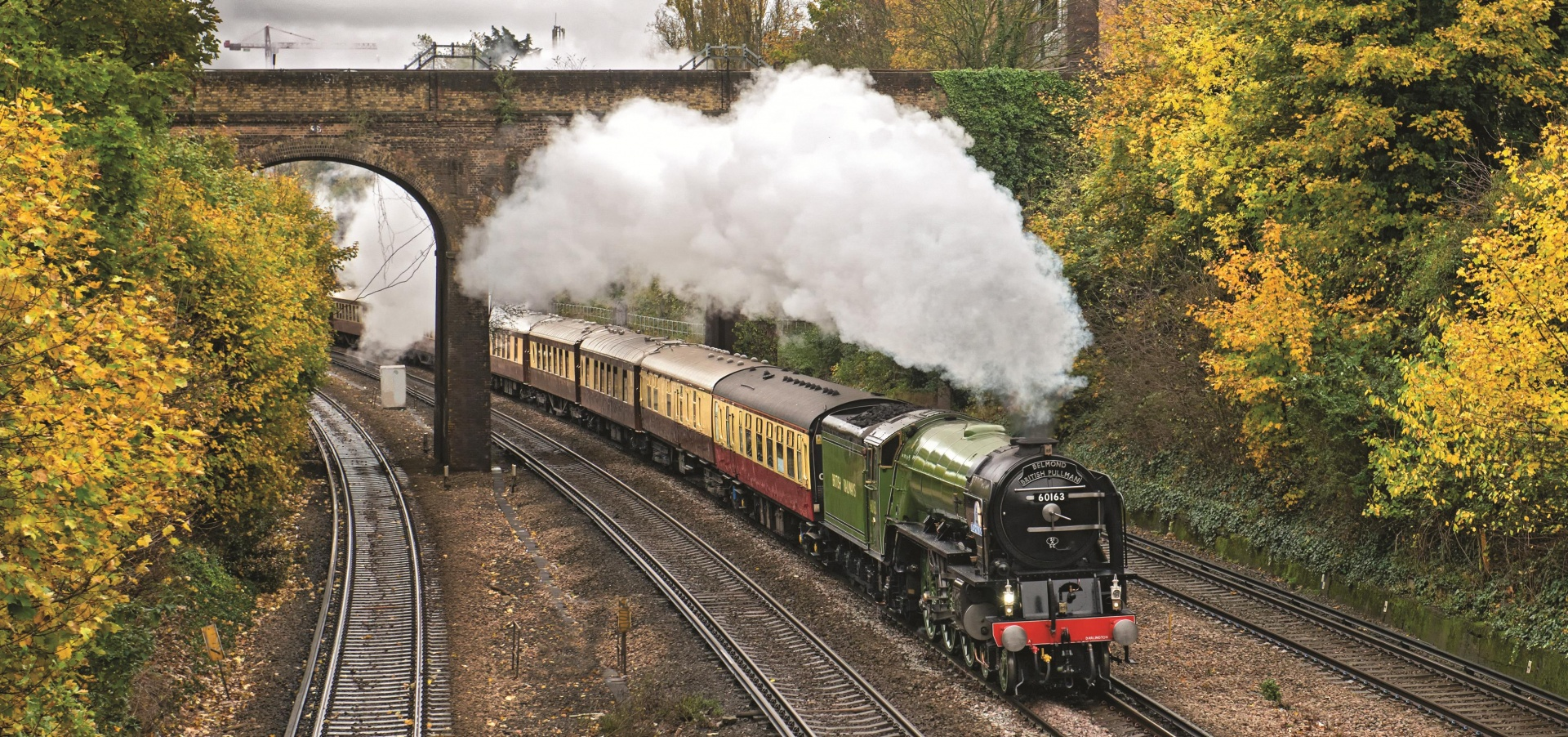 Belmond British Pullman Golden Age Of Travel By Steam