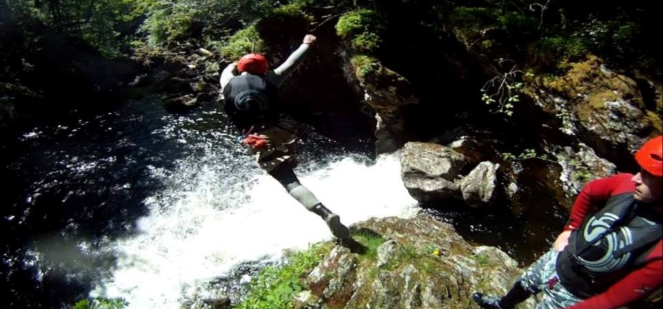 Half Day Canyoning Experience in Stirlingshire-5