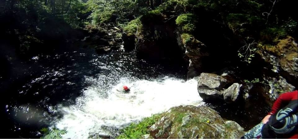 Half Day Canyoning Experience in Stirlingshire-6