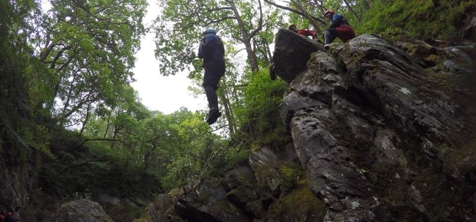 Half Day Canyoning Experience in Stirlingshire-7