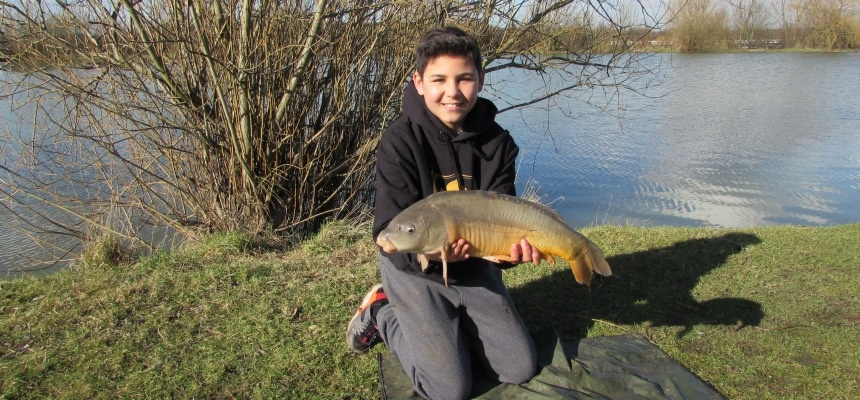 Lads and Dads Carp Fishing Experience - Essex-4