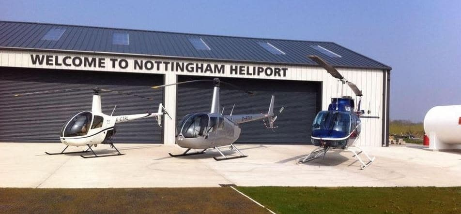 Helicopter Flight Tour Of Nottingham-2