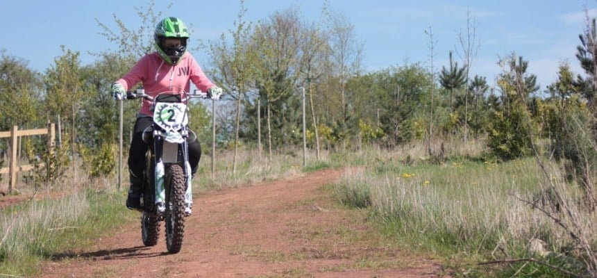 Off Road Electric Dirtbike Experience - Cheshire-5