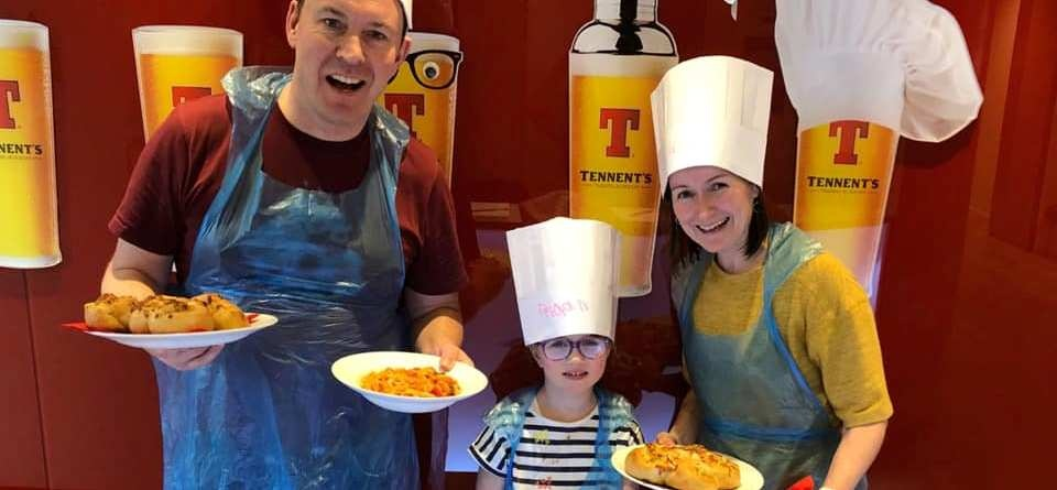 Family Cookery Workshop in Glasgow for 2-1