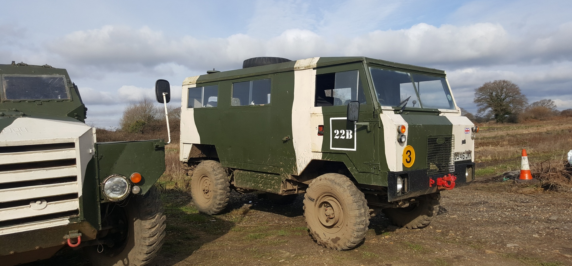 Classic Military Vehicle Driving Day in Dorset-4