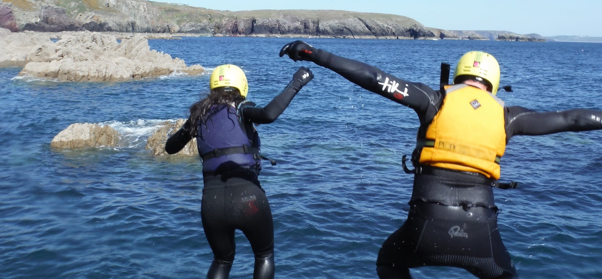 Full Day Coasteering Adventure in Pembrokeshire-5