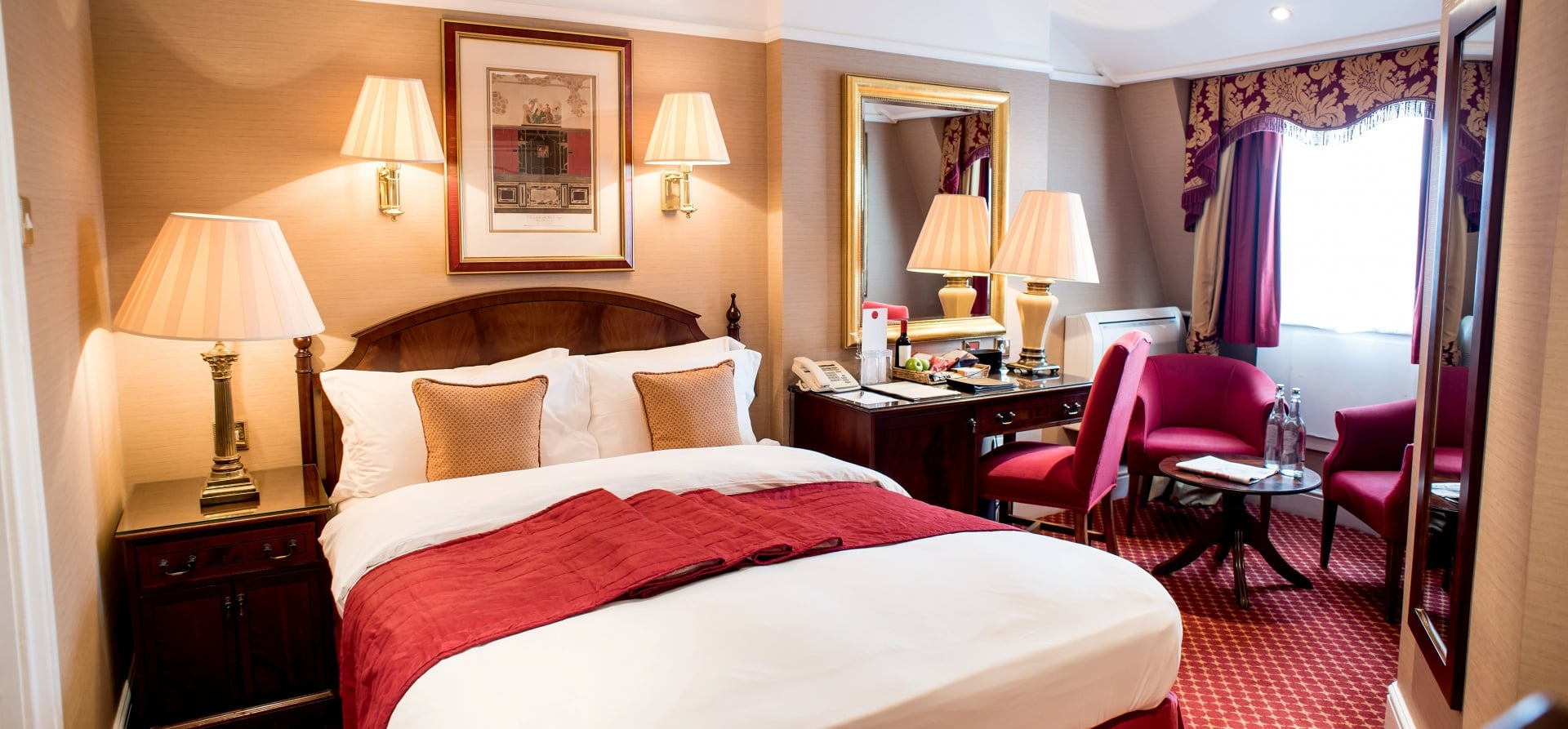 Overnight Break For Two At The Colonnade Hotel, London - With Dinner-6